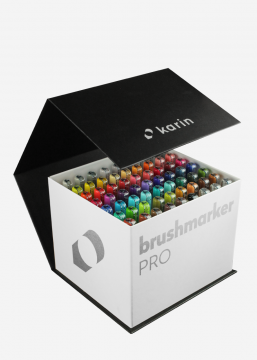 BrushmarkerPRO | MegaBox 60 colours + 3 blenders