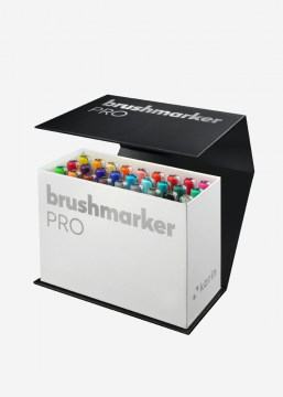 BrushmarkerPRO | MiniBox 26 colours + blender